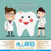 22 Kasım Diş Hekimliği Günü Kutlu Olsun!