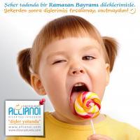 Şeker tadında bir Ramazan Bayramı dileklerimizle